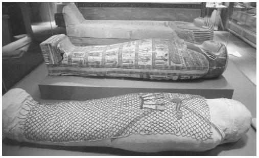 In ancient Egypt, dead people's bodies were prepared for mummification. It was believed they would go to an afterlife. (AP/WIDE WORLD PHOTOS)