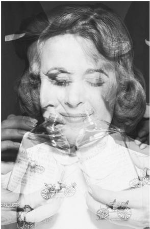Under hypnotism, Virginia Tighe claimed to be the incarnation of an Irish woman named Bridey Murphy. (CORBIS CORPORATION)