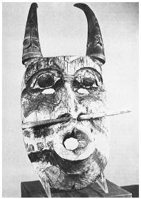 Shaman's mask. (Archives of Brad Steiger)