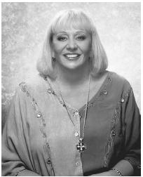Channel Sylvia Browne (1936–) has been on numerous talk shows, including the Montel Williams Show. (SYLVIA BROWNE CORPORATION)