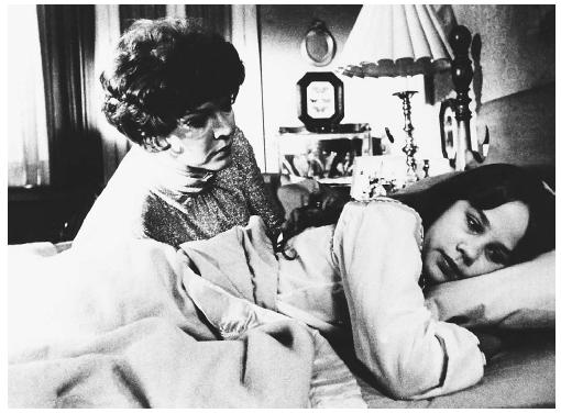 Ellen Burstyn and Linda Blair in a scene from The Exorcist. (CORBIS CORPORATION)