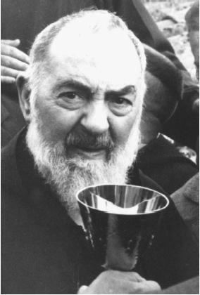 Padre Pio (1887–1968) is one of the most well-known stigmatics of the twentieth century. (AP/WIDE WORLD PHOTOS)