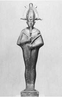 Osiris, god of the Underworld, is considered to be a symbol of resurrection. (ARCHIVE PHOTOS, INC.)