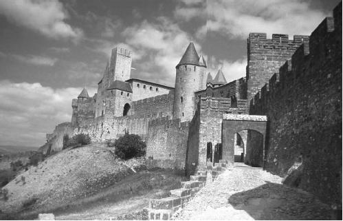 Carcassonne in  Cathar country. (F. C. TAYLOR/FORTEAN  PICTURE LIBRARY)