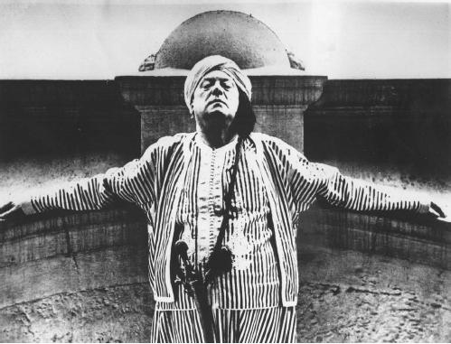 Aleister Crowley in 1934. (AP/WIDE WORLD PHOTOS)