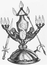 Eliphas Levi's magical instruments. (FORTEAN PICTURE LIBRARY)