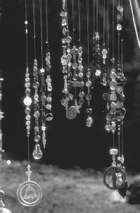 Crystal necklaces for healing and well-being. (CORBIS CORPORATION)