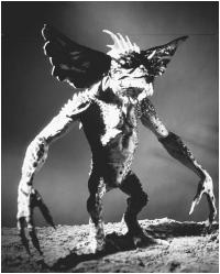 "Model from the film ""Gremlin."" (FORTEAN PICTURE LIBRARY)"