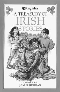 Illustration of a leprechaun from A Treasury of Irish Stories. (ELSIE LENNOX)
