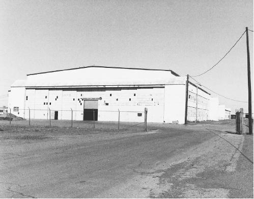 Hangar 18 was where the US Air Force kept the alleged wreckage of the UFO crash. (PETER BROOKSMITH/FORTEAN PICTURE LIBRARY)