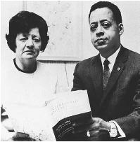 Betty and Barney Hill claimed they were abducted by UFOs. (FORTEAN PICTURE LIBRARY)