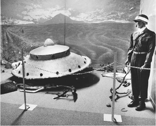 UFO Enigma Museum in Roswell, New Mexico. (FORTEAN PICTURE LIBRARY)